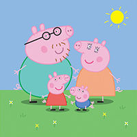 Свинка Пеппа, серия Товара Оригами - фото, картинка