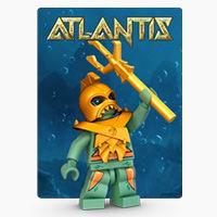Atlantis, серия Производителя LEGO