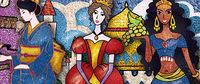 Драгоценная фреска, серия производителя Фантазер