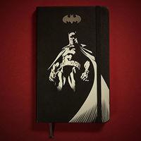 Batman, серия Производителя Moleskine